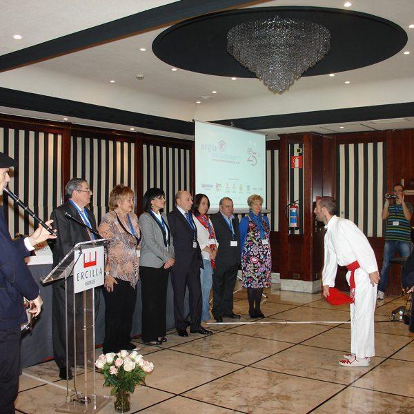 Celebración treinta aniversario de la Asociación de Ostomizados de Bizkaia- Argia- Bizkaiko Ostomizatuen Elkarteko 30.urteurrena